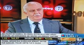 KIYIKLIK, BLOOMBERG TV`DE